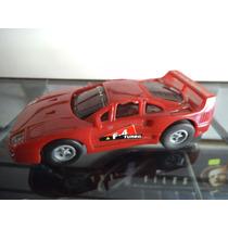 Carro Twin Turbo Rojo Slot Car Para Pista Vintage