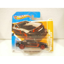 Hot Wheels 2012 Mustang Boss 302 Laguna Seca Negro 2012 Tc