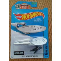 Uss Enterprise Ncc-1701 Star Trek Viaje Estrellas Hot Wheels
