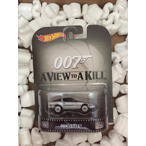Hot Wheels Retro -007 A View Toa Kill: Corvette