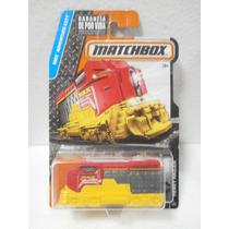 Matchbox Cabeza Tren Heavy Railer Rojo/amarillo 1/125