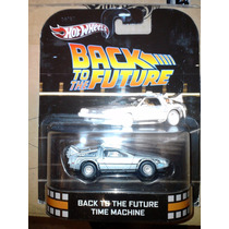 Hot Wheels Retro Delorean Time Machine Volver Al Futuro