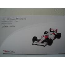 Fórmula 1 Mclaren Mp4/6 # 2 1991 G. Berger