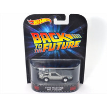 Hotwheels Delorean Mr Fusion Volver Futuro Back The Future