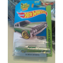 Hot Wheels De Coleccion Zamac 2014 Lincoln Continental Bvf