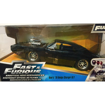 Rapido Y Furioso Dom Dodge Charger R/t Fast & Furious Nuevo