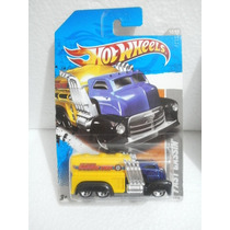 Hot Wheels Camion Pipa Fast Gassin Azul 234/244 2011 Tl