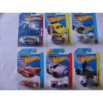 Carritos Hot Wheels Lote De 6, Nuevos, Envio Gratis!!!!!!!!!