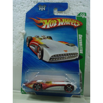 Hot Wheels T Hunt Chevroletor Blanco 54/214 2010 Tl