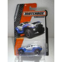 Matchbox On A Mission Turn Tamer Azul/gris 1:64