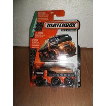 Matchbox Camion Terrainiac Negro 1:64