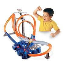 Tb Hot Wheels Triple Track Twister Track Set