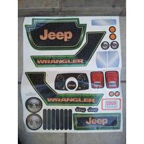 Montable Electrico Jeep Wrangler De Lujo Calcomanias.