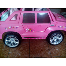 Calcomanias Power Wheels Barbie Cadillac