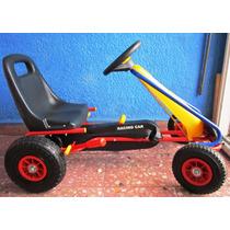 Carro De Pedales Go Kart Llantas De Aire