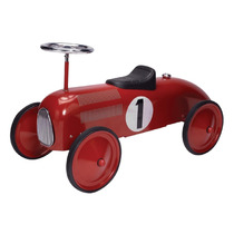 Carrito Tipo Antiguo Schylling Speedster Color Rojo