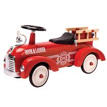 Carrito Tipo Antiguo Schylling Speedster Camión De Bomberos