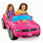 Carro Electrico Barbie Mustang Carrito Montable