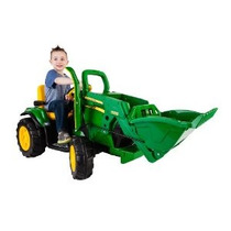 Peg Perego John Deere Ground Cargador Ride On Green
