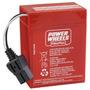 Power Wheels Bateria Original 6 Volts 9,5 Amperes Nueva