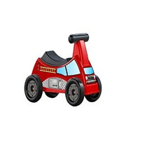 American Plastic Toys Bomberos Ride-on