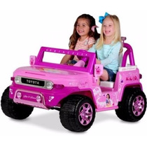 Disney Princess Toyota Fj Cruiser 12-volt Battery