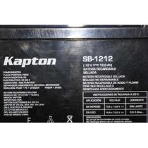 Batería Recargable Para Carro Electrico Kapton 12v 12a Ndd