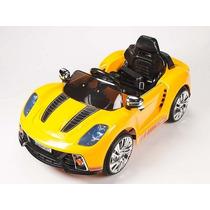 Carrito Nuevo Porsche 919 Amarillo Control Remoto Mp3 Luces