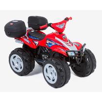 Cuatrimoto Eléctrica Prinsel Boy Rojo Moto De Niño Montable