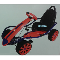Carro De Carreras De Pedales Gokart Montable Kettler (rojo)