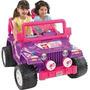 Fisher-price Power Wheels Púrpura Barbie Jammin