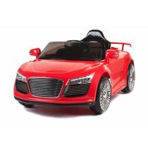 Carrito Nuevo Audi R8 Rojo Control Remoto Sonido Mp3 Luces