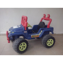 Power Wheels Jeep Montable Electrico
