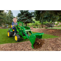 Peg Perego John Deere Ground Cargador 12v Ride On