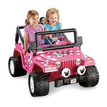 Fisher-price Power Wheels Niñas Disney Minnie Mouse Jeep 12-