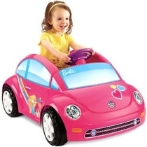 Power Wheels Barbie Volkswagen New Beetle