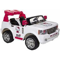 Carro Electrico 12 V Hello Kitty Bow Tie Suv Envio Gratis