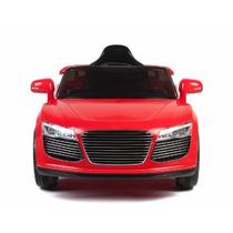 Carrito Electrico Audi R8 Rojo + Control Remoto Mp3 Y Luces