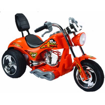Mini Moto Electrica Red Hawk Juguete Regalo P/ Niños Naranja