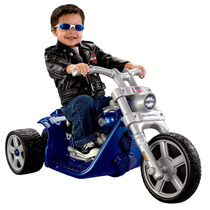 Moto Harley Modelo Rocker Oficial Recargable Power Wheels
