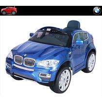 Carrito Pila Camioneta Bmw Suv X6 Mp3 Luces Control Remoto