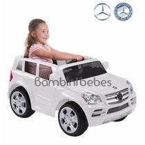 Camioneta Electrica Mercedes Benz Suv 6v Prinsel Niño Niña