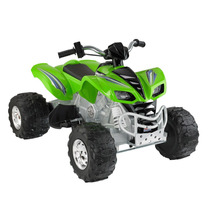 Cuatrimoto Fisher-price Power Wheels Kawasaki Kfx-12 Volts!!