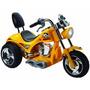 Mini Moto Electrica Redhawk Juguete Regalo P/ Niños Amarilla