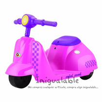 Mini Moto Para Niñas Color Rosa Mexicano Razor