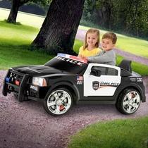 Carrito Carro Electrico Montable Charger De Policia