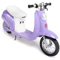 Scooter Electrico Razor Pocket Lila Moto Vespa Batería Wsl