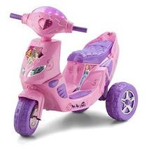 Kid Trax Princesa Centelleo Scooter 6v Ride On