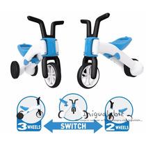 Bicicleta Para Niños Balance Color Azul Chillafish Bunzi