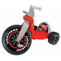 Triciclo De Cars Disney Pixar Big Wheel, 3-8 Años